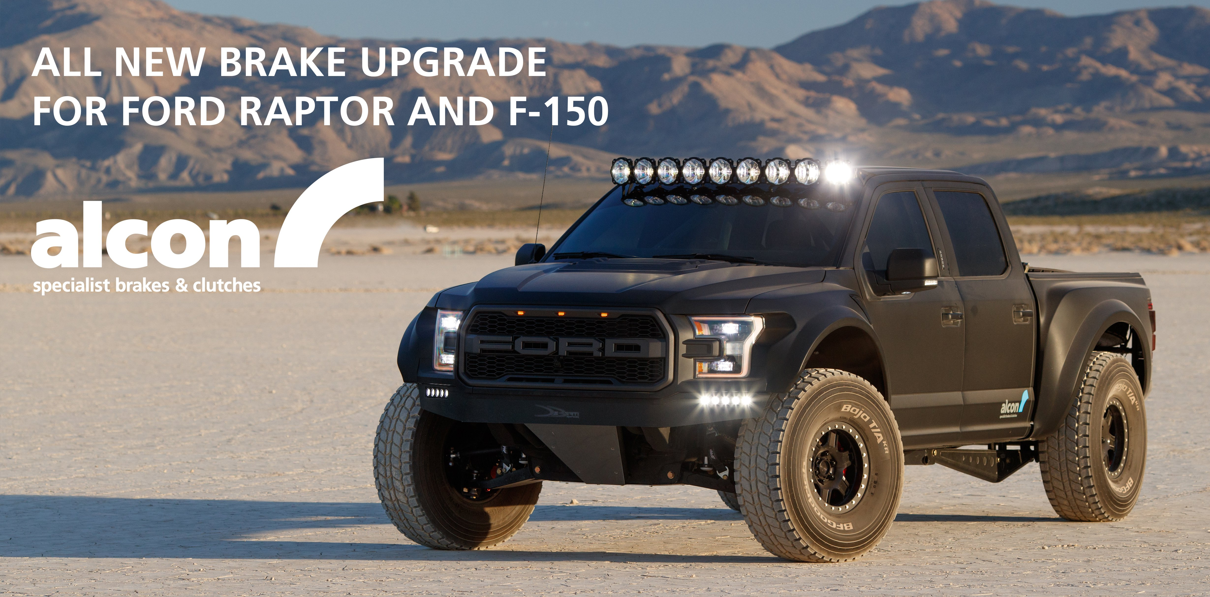 Ford SVT Raptor Heavy Duty Brakes announced