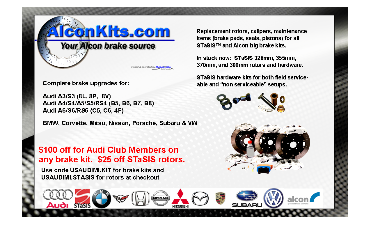 US Audi club members promotion