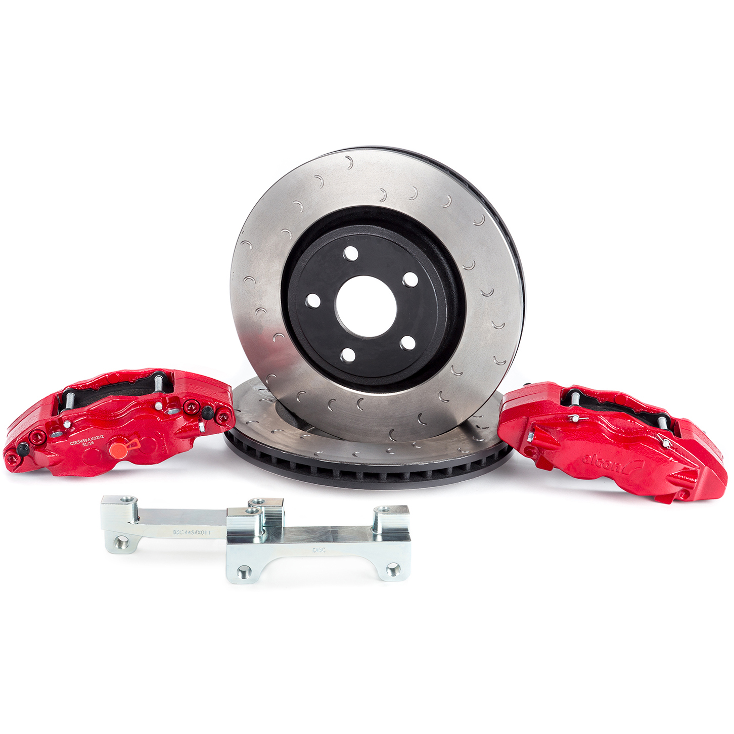 Jeep Jk Wrangler Front Big Brake Kit Free Shipping